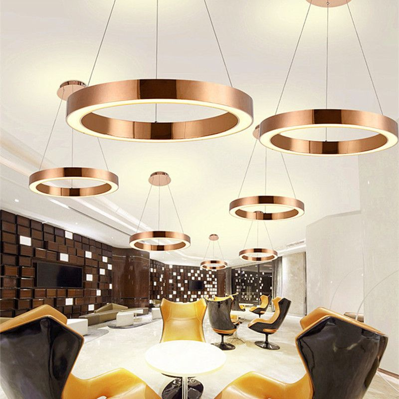 Pendant Lights Directly From China Suppliers Modern Nordic Led Rose Gold Restaurant