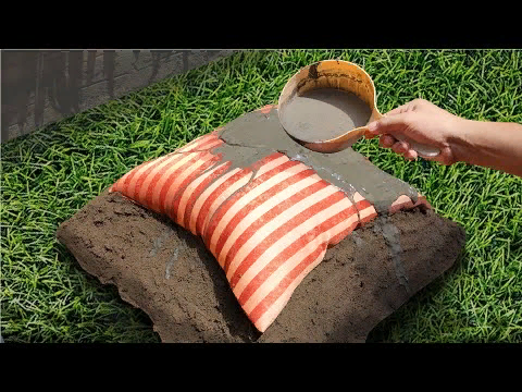 5 EASY DIY Home Hacks - AMAZING Ideas with Cement & Pillow ...