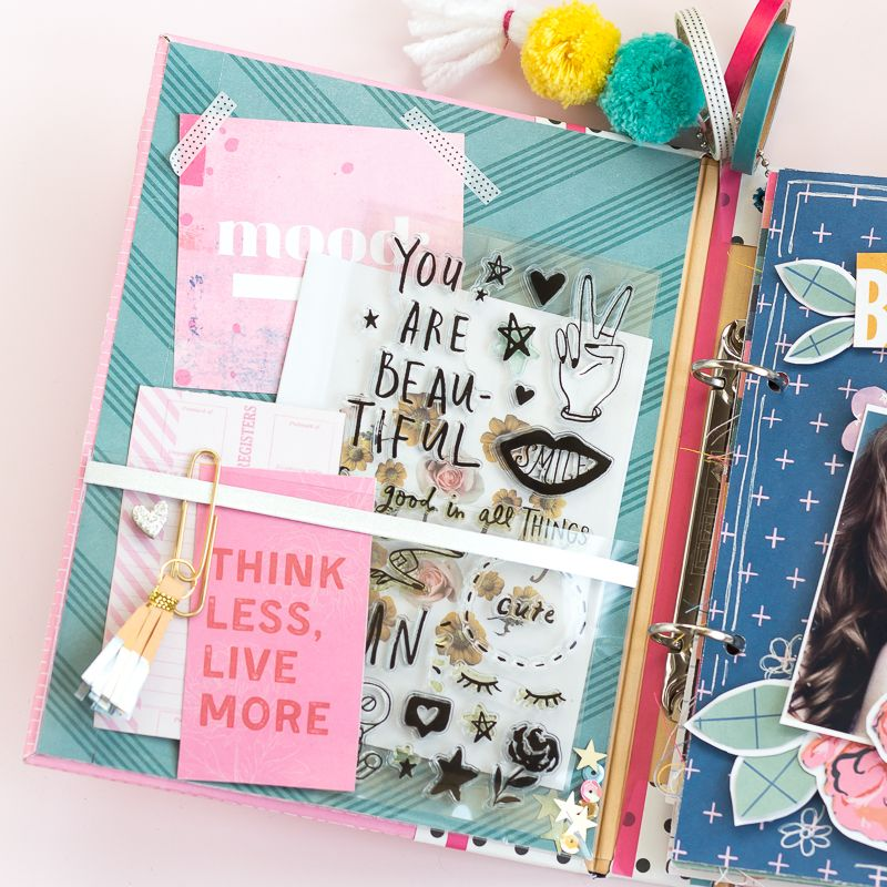 diy smash book with all heart collection в 2020 г