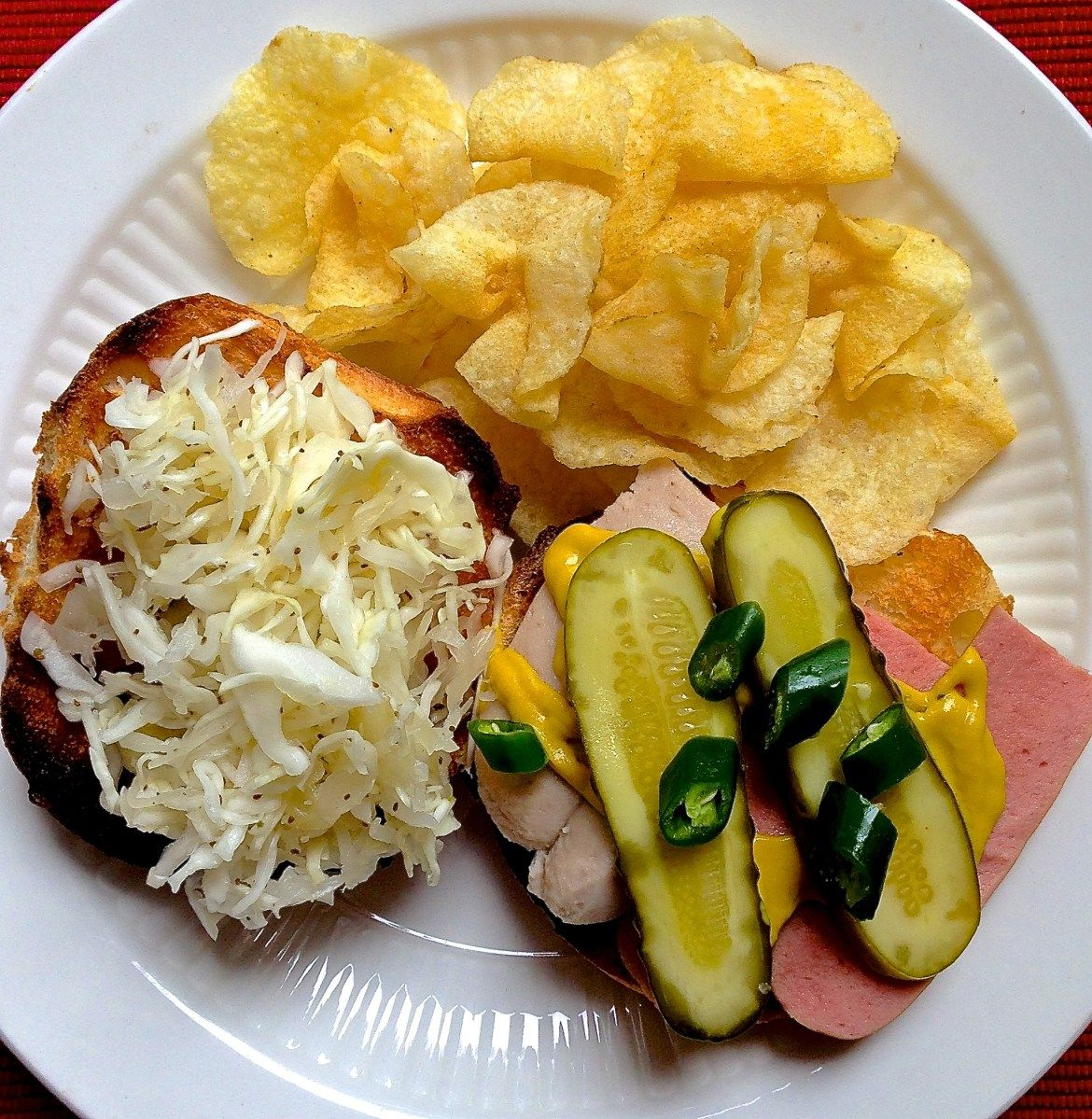 Sauerkraut slaw recipe slaw food sauerkraut