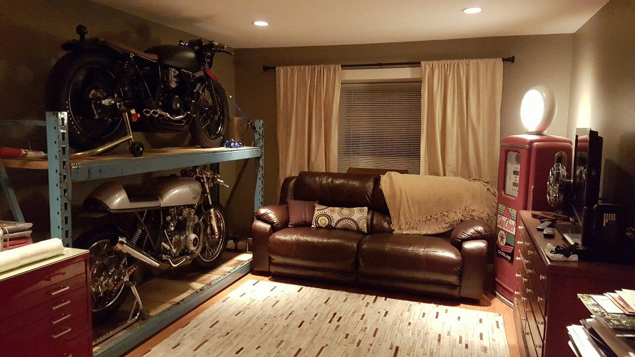Motorcycle Man Cave Man Cave Furniture Home