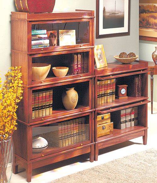 Barrister Bookcase Woodworking Furniture Plans Bookcase Woodworking Plans