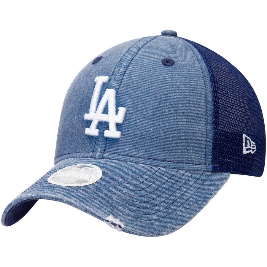 38542fc4 Women's Los Angeles Dodgers New Era Royal Tonal Washed Trucker 9TWENTY  Adjustable Hat, Your Price