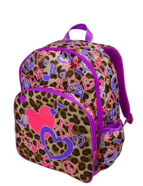 Justice Cheetah Rock Backpack Girl Backpacks Girl Backpacks School Backpacks