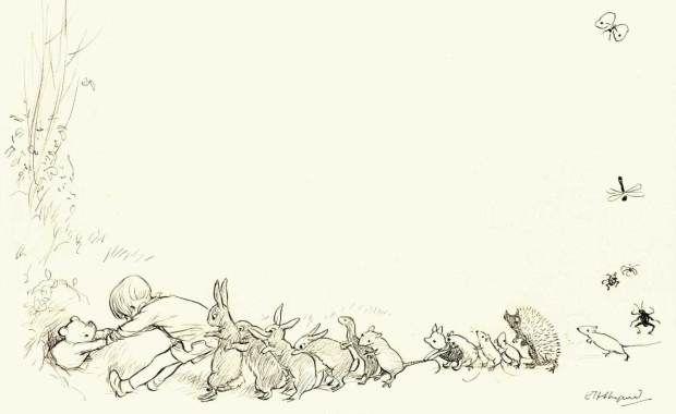 die besten 25 pooh b r ideen auf pinterest pooh winnie winnie pooh tapete und disney doodles. Black Bedroom Furniture Sets. Home Design Ideas