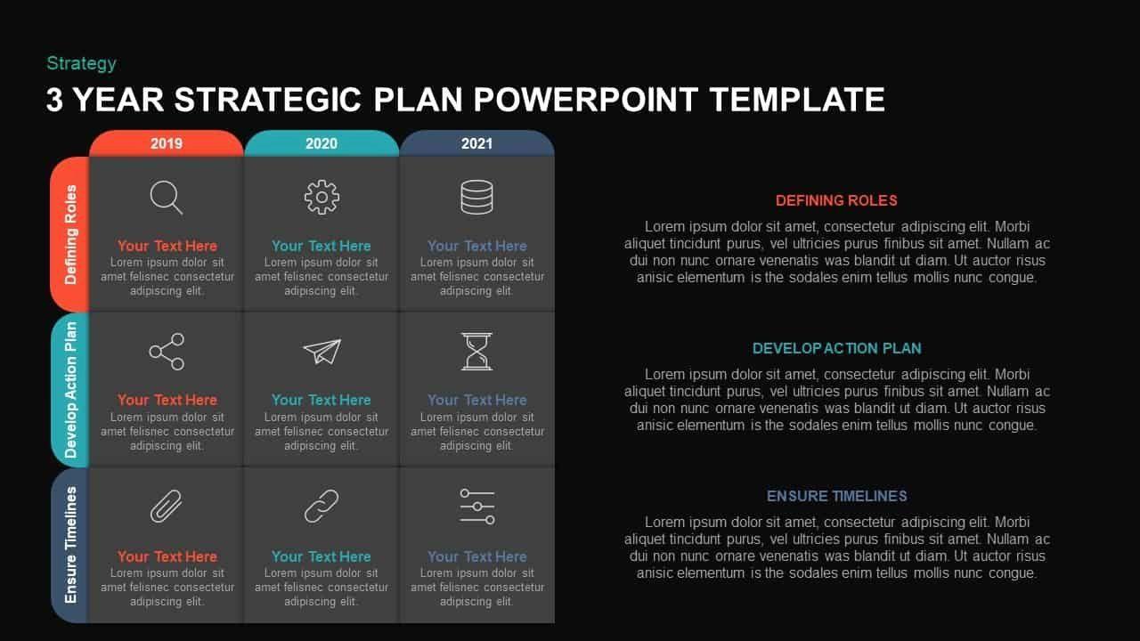 Strategic Plan Template Ppt Elegant 3 Year Strategic Plan Powerpoint Template Kaynote Strategic Planning Powerpoint Templates Document Templates 3 year strategy plan template