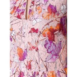 Vive Maria Kleid in Weiß - 61% | Größe L | damen-kleider Vive MariaVive Maria #rosaspitzenkleider Msgm Spitzenkleid mit Blatt-Print - Rosa Msgmmsgm #rosaspitzenkleider