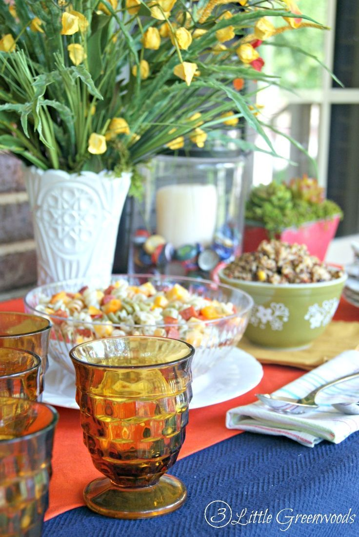 Exceptional Celebrate The Summer Holidays In Style With These Summer Table Decoration  Ideas From 3 Little Greenwoods Part 30
