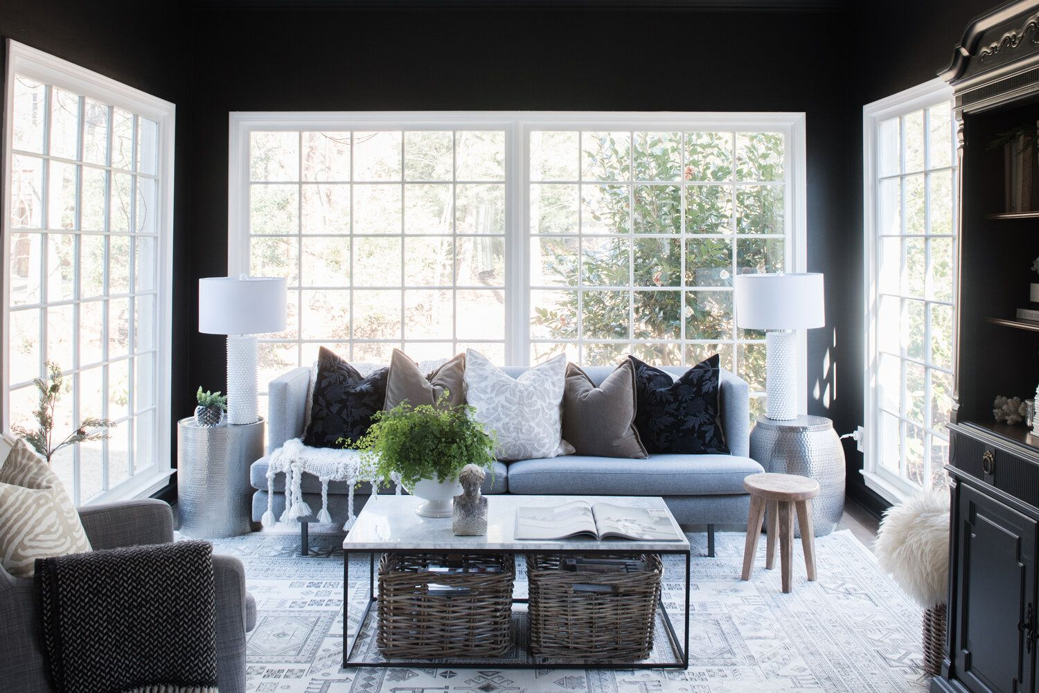 The Easiest Way To Find Your Home Style Choose Your Favorite Outfit House Of Valentina In 2020 Living Room Lounge Home Room