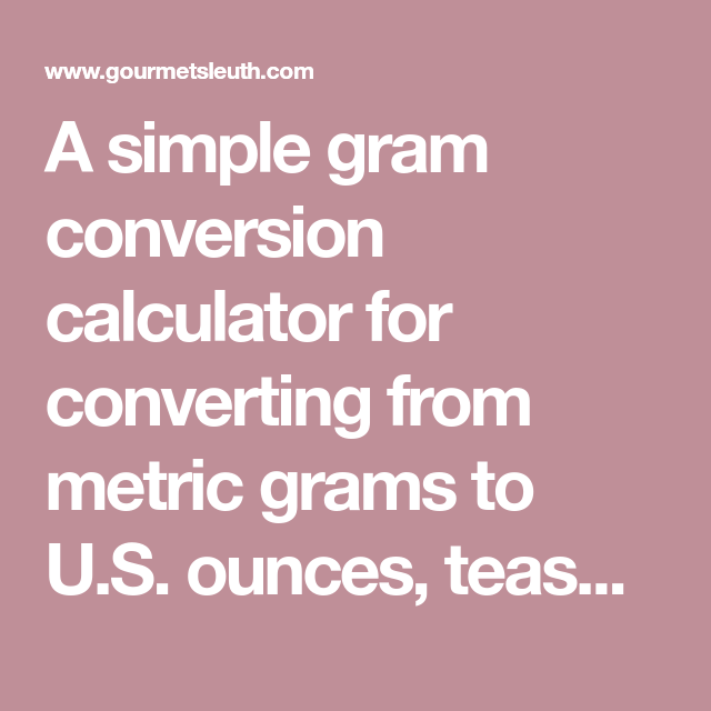 Converting 1 tablespoon to grams video & lesson transcript.