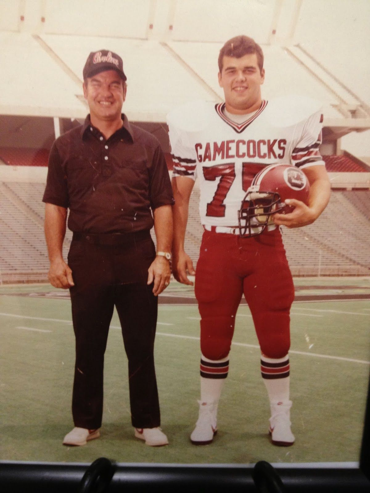 South Carolina Gamecocks Joe Morrison HC DE 75 Ray Bingham 1983