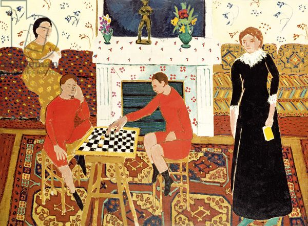 Matisse - The Family of the Artist, 1911 (oil on canvas)