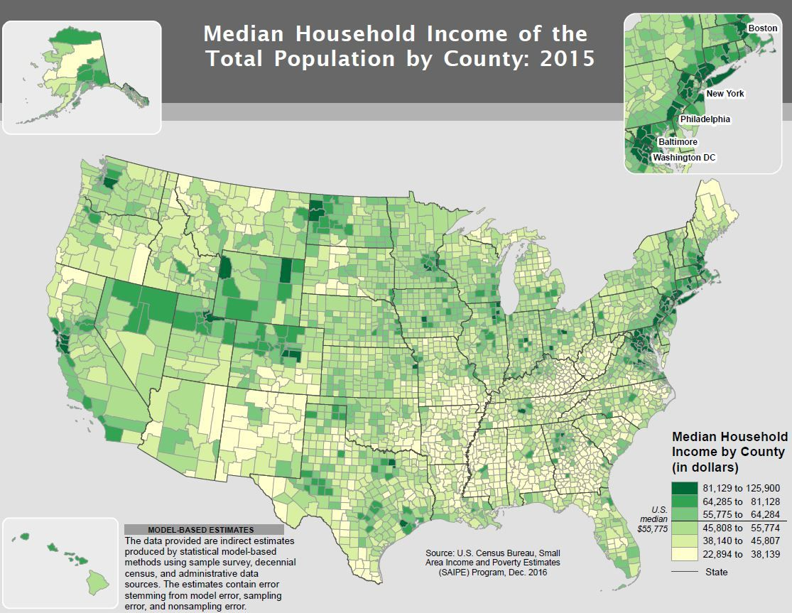 AP Photo)(CNSNews.com) - The four richest counties in the ...
