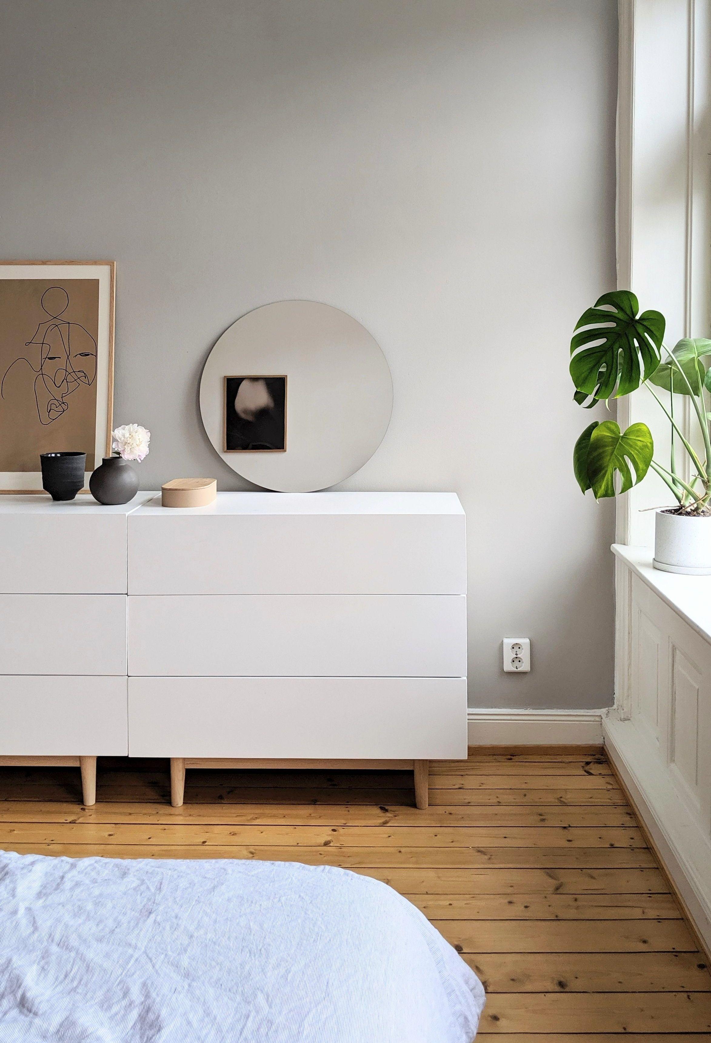 Wandfarbe Grau Braun Furs Schlafzimmer Von Www Kolorat De Kolorat