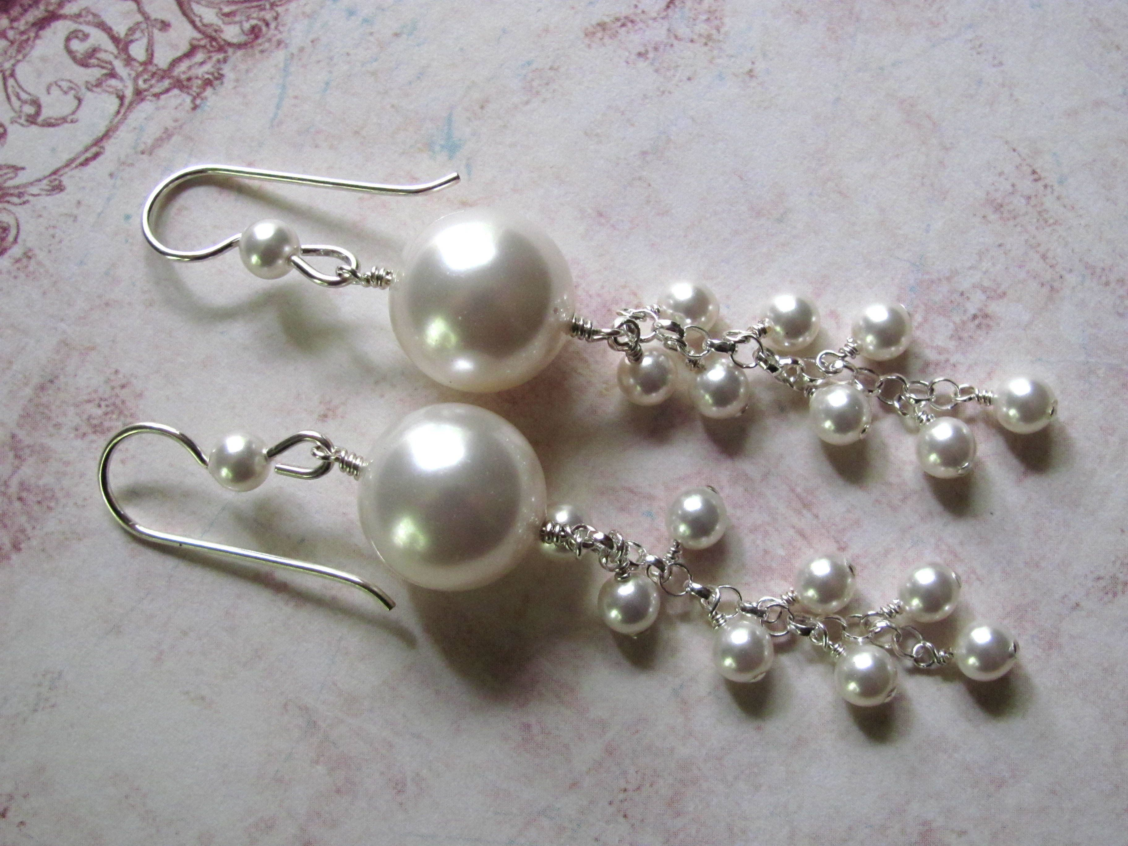 earrings itm pearls stud swarovski crystal pearl myjs gp with white tricia a