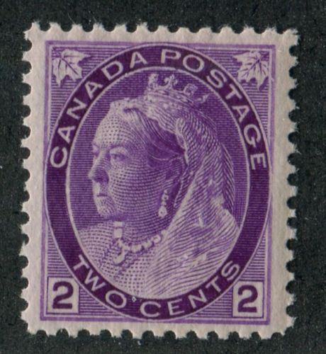 Canada-76i-2c-Bright-Violet-1898-1902-Numeral-Issue-Vert-Wve-Paper-VF-84-NH