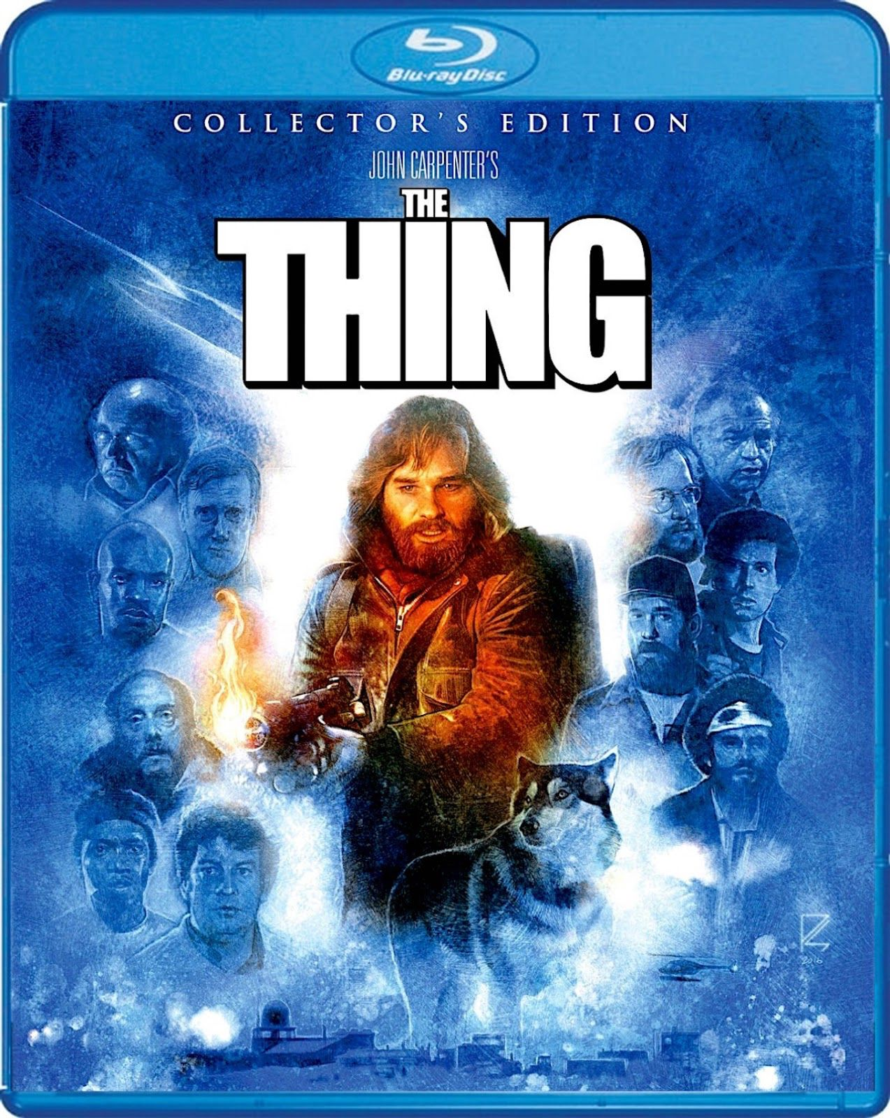 THE THING COLLECTOR'S EDITION SCREAM FACTORY BLURAY