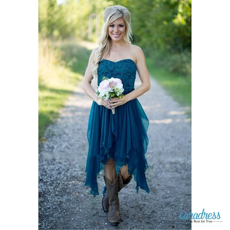 Find More Bridesmaid Dresses Information about Teal Country ...