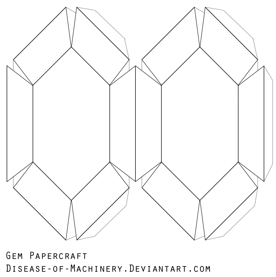 how to make a diamond out of paper