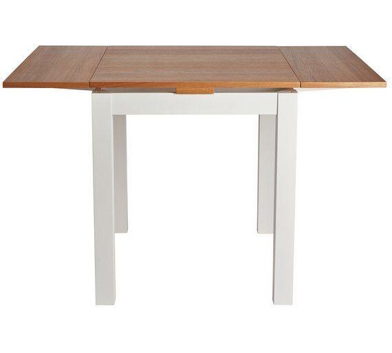 20e413ee30a Buy Argos Home Clifton Extendable 2-4 Seater Table- Two Tone ...