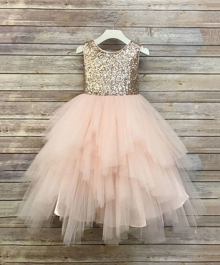 5ddb06cc36d0 Blush Sequin   Tulle Tutu Dress - Toddler   Girls affiliate ...
