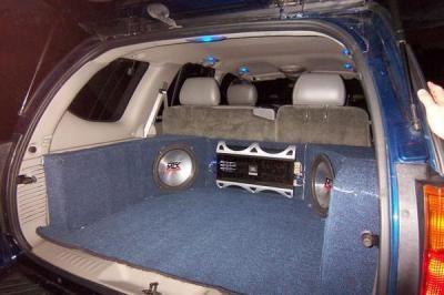 Brett M S 2002 Gmc Envoy Gmc Envoy Car Audio Custom Sub Boxes