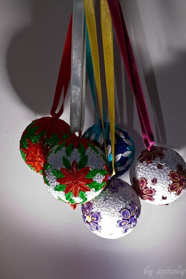 esferas navideas coronas papel navidad diseos quilling ideas quilling papel quilling quilling navidad bolas de navidad