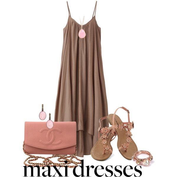 Style Your Favorite Maxi Dress by mommygerloff on Polyvore