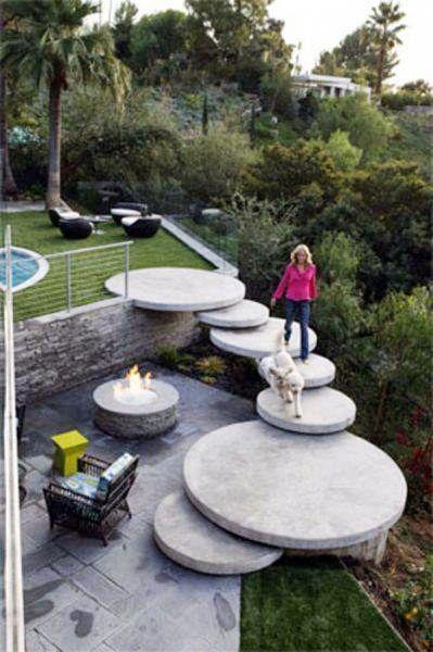Ideas para la decoracion del hogar cominidad de for Escaleras para caminar fuera del jardin