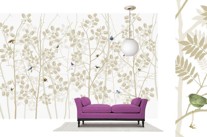 For Girls Room Scandinavian Surface Wallpapers Photowall