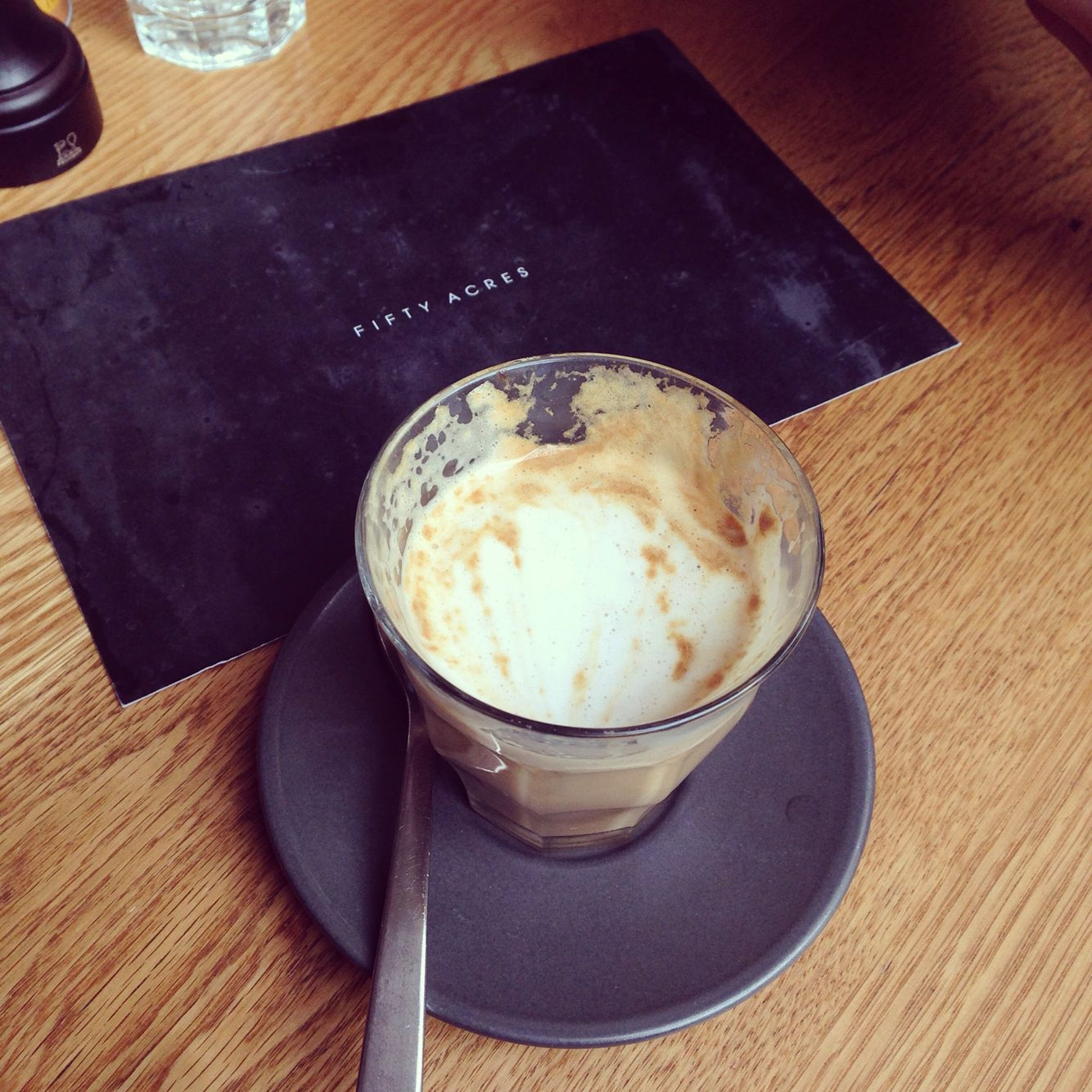 Soy Latte- Fifty Acres Cafe