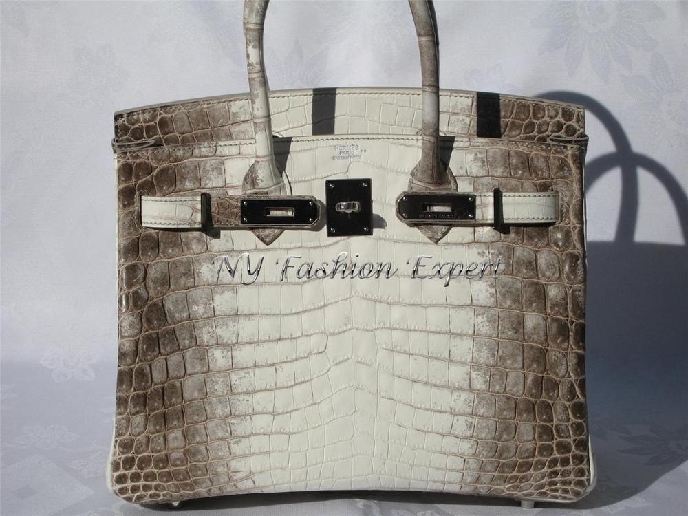 4ca3ecf7d390 ... size 40 Breathtaking HIMALAYAN CROCODILE 30cm HERMES Birkin Bag in  Clothing