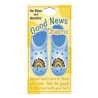 God's Promise Good News Shoe Charms Pack of 12 by Swanson. $23.88. God's Promise Good News Shoe Charms Pack of 12