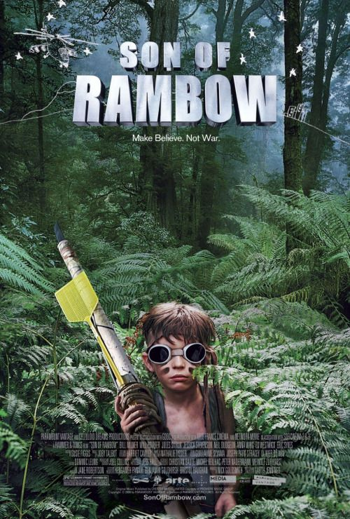 Son of Rambow Fuck Yeah Movie Posters!