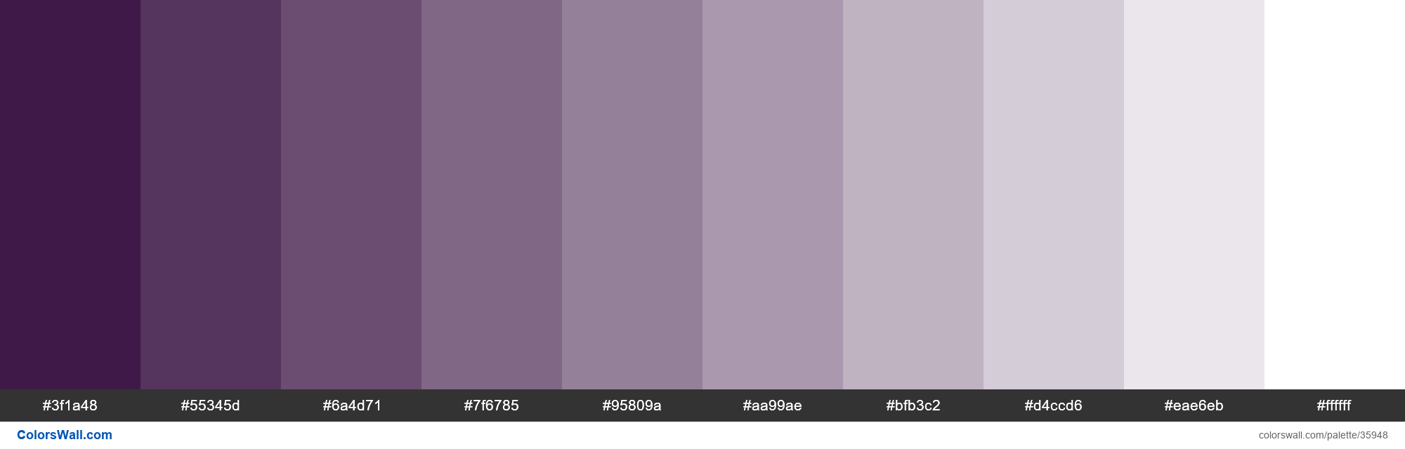 Tints Xkcd Color Very Dark Purple 2a0134 Hex In 2020 Royal Purple Color Tints Purple Color