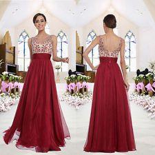 Vestidos formales largos para mujer