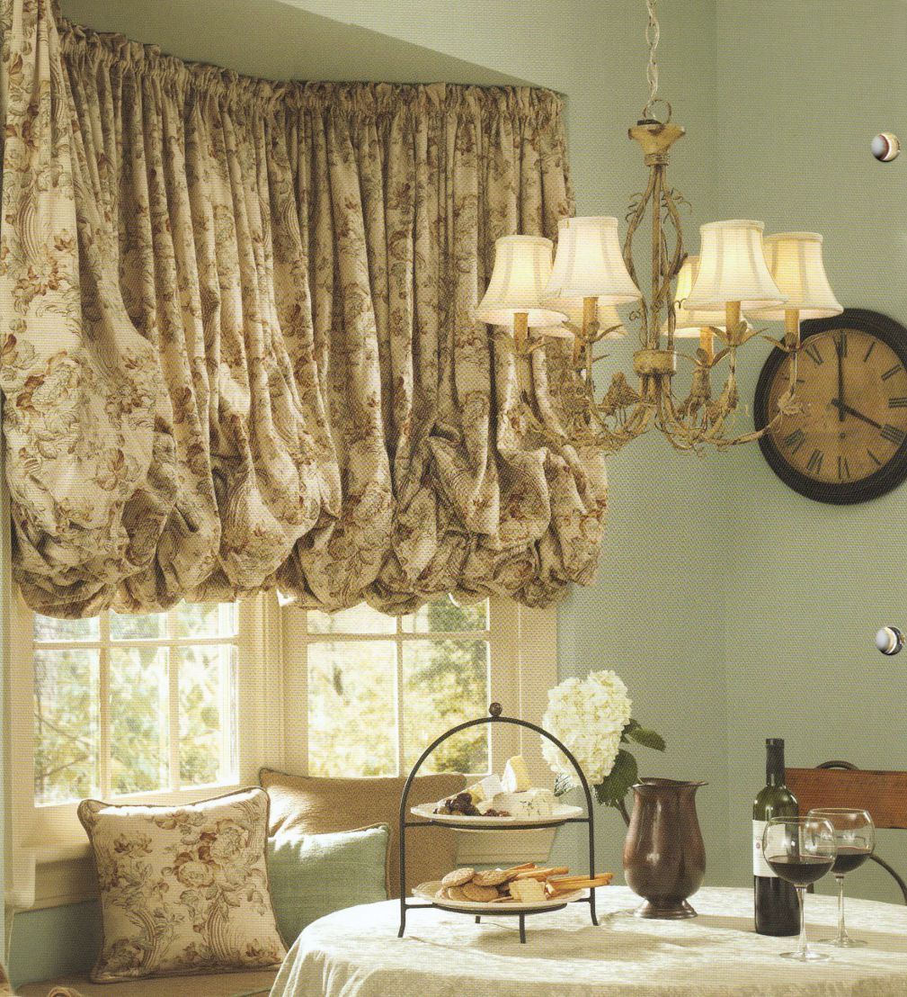 Elegant Kitchen Curtains Valances: Window Valance Patterns