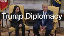 Trump welcomes freed US-Egypt prisoner Aya Hijazi to White House