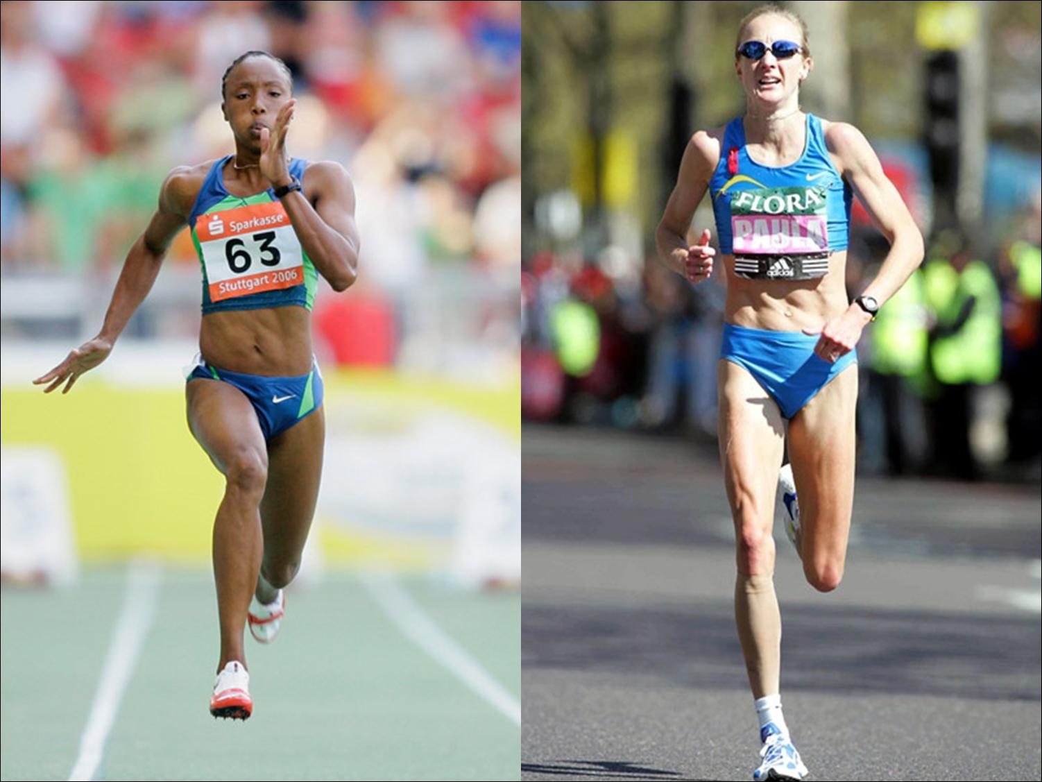 sprinter vs. marathoner - cardio without weight training ...
