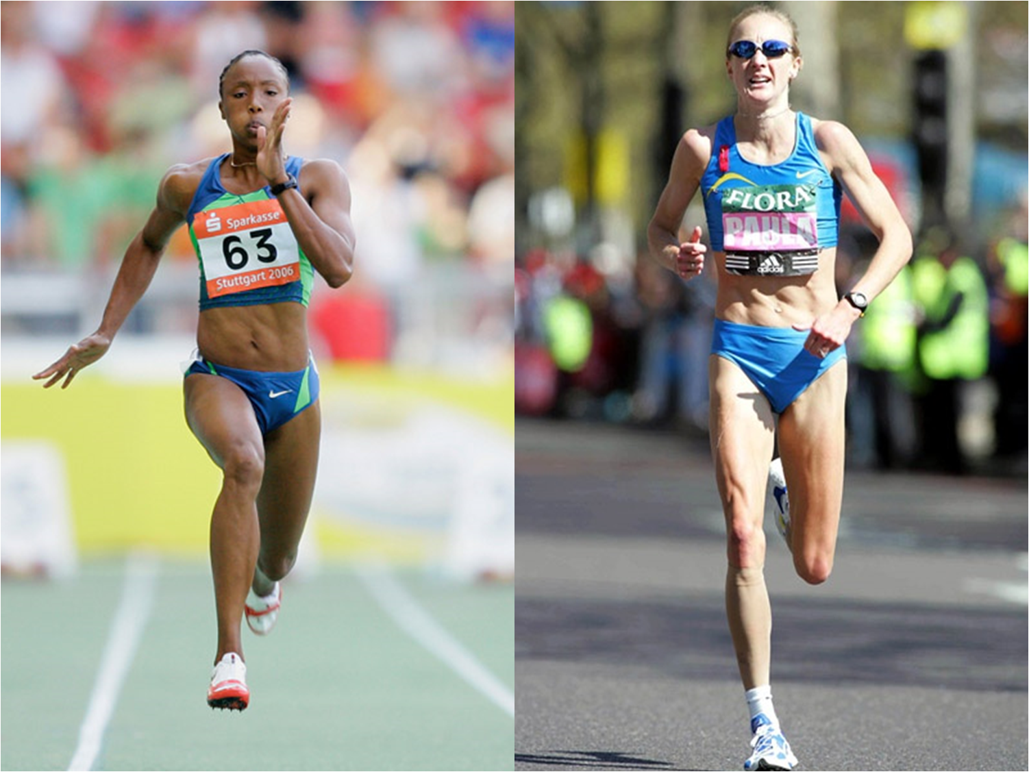Sprinters physique