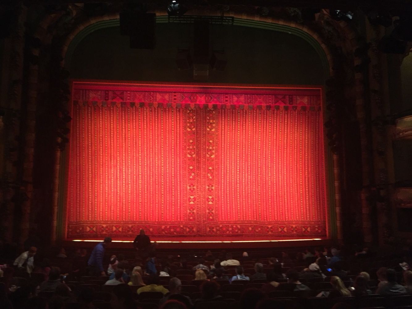 New Amsterdam Theater Seeing Aladin In New York City New Amsterdam York City City