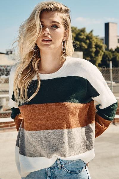 Rylee Colorblock Sweater
