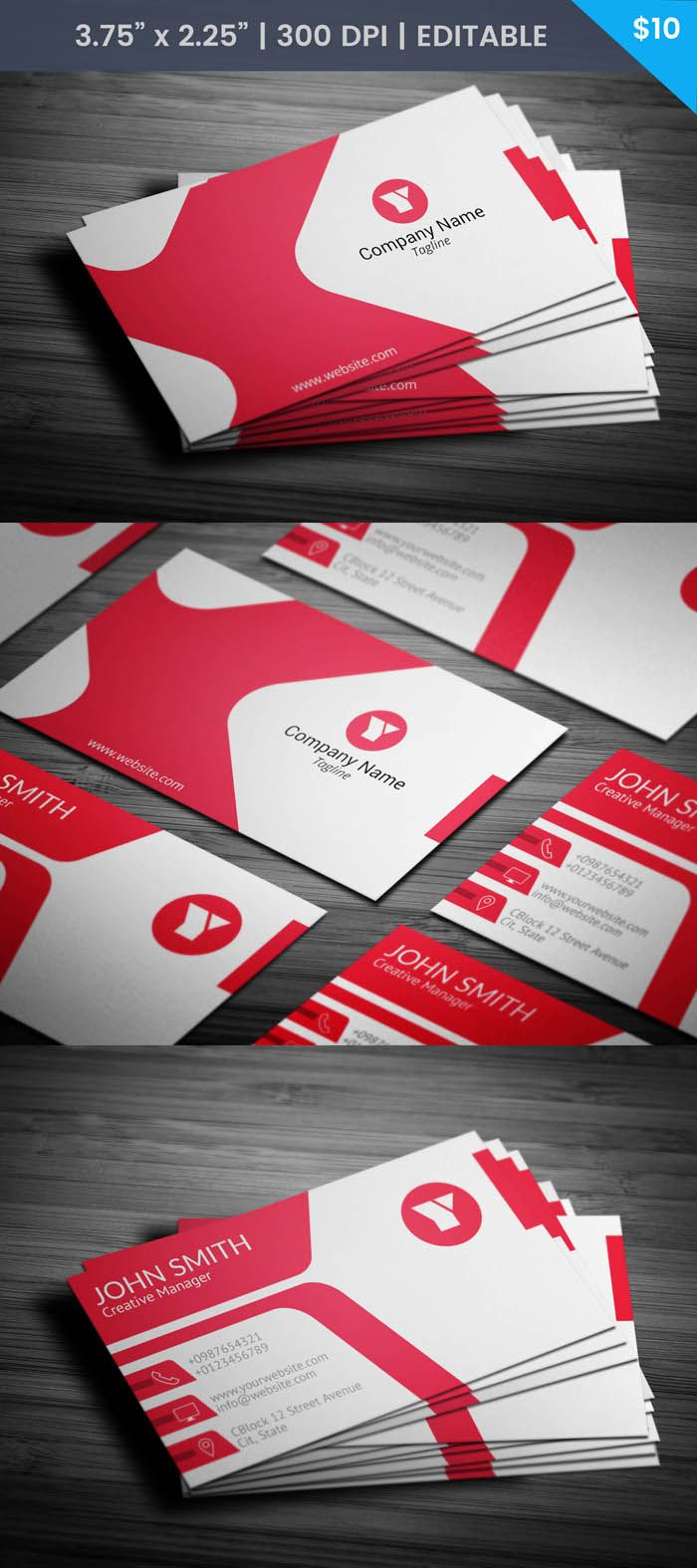 Free sleek 3d artist business card template modern business cards free sleek 3d artist business card template friedricerecipe Image collections