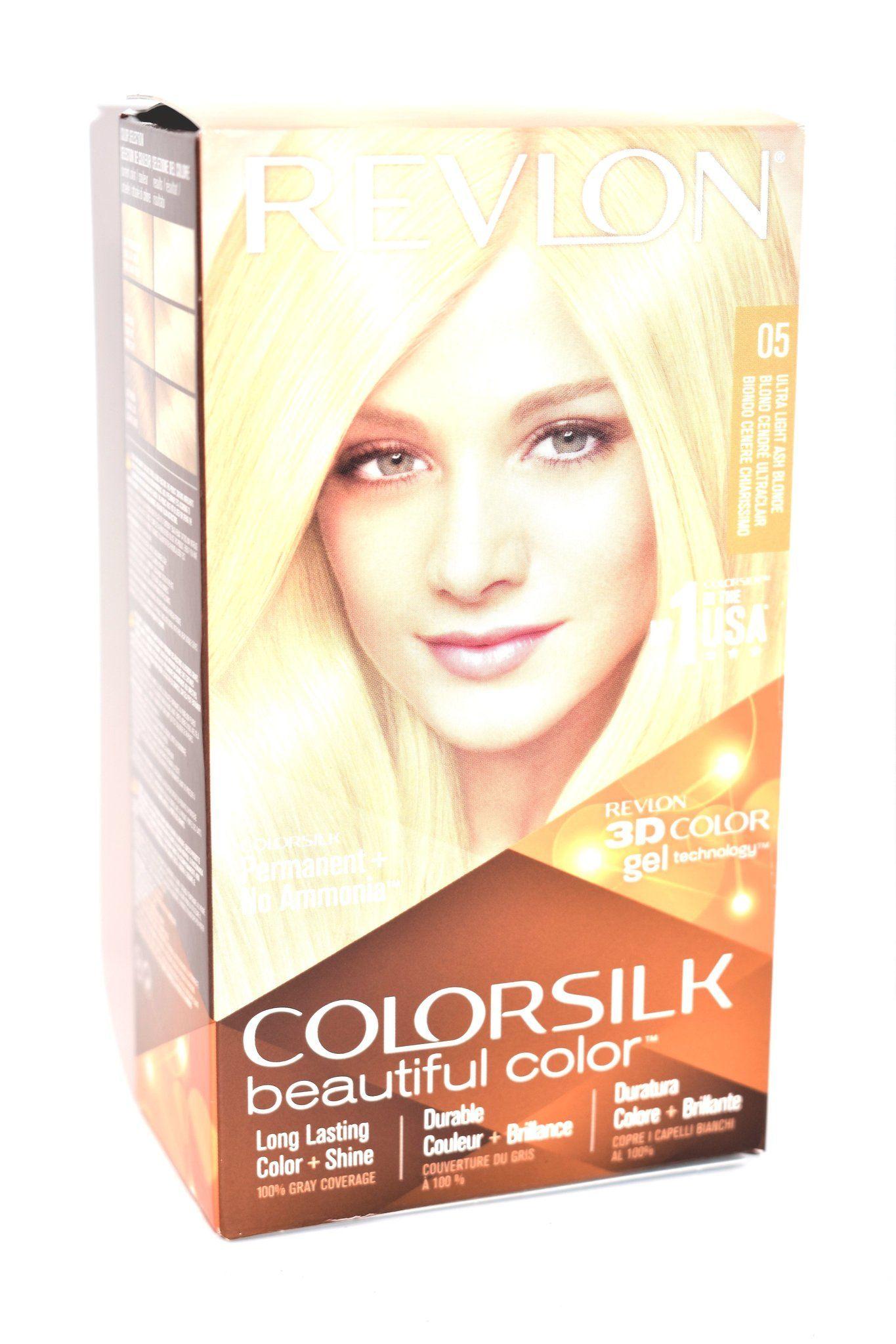 Revlon Colorsilk Beautiful Color 05 Ultra Light Ash Blonde With