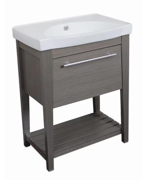 Bellaterra Home 28 Single Sink Vanity Set Reviews Wayfair