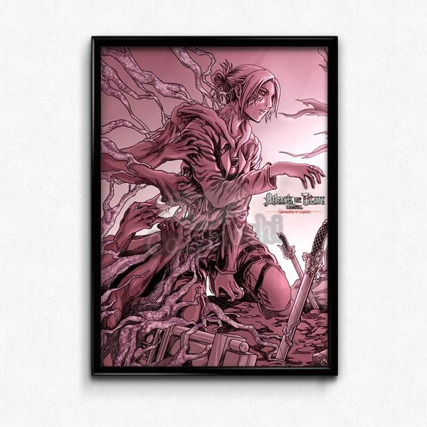 Two Colors Of Annie Leonhart Poster |Cozymoshi