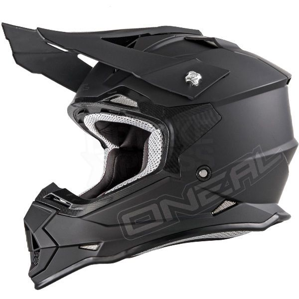 Details About O Neal 2 Series Rl Motocross Helmet Matt Black Mx