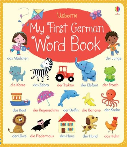 Young children can build their German vocabulary with this - new friendly letter format in german