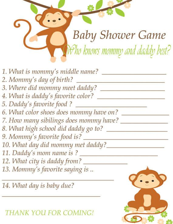Superior Printable Baby Shower Guessing Game Is Suitable For Those Of You Who Wants  To Play An Easy Game That No Need For The Equipments.