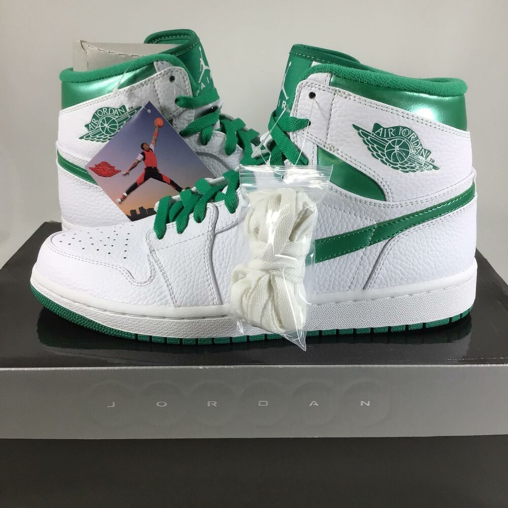 ba5ec7aa7504a9 eBay  Sponsored Nike Air Jordan 1 Retro High Do The Right Thing Green  332550131 Sz 9 NIB H8